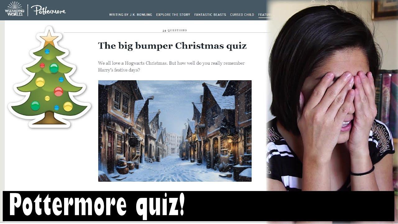 The Big Bumper Christmas Quiz (Pottermore) // vlogmas day 18