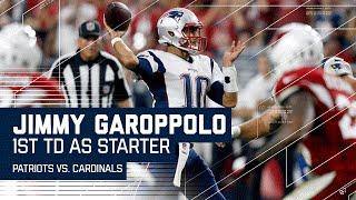 Jimmy Garoppolo's 1st TD as a Starter! | Patriots vs. Cardinals | NFL