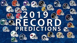 Download Predicting Every Team's 2019 Record Mp3 and Videos