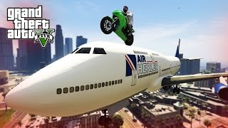 BEST GTA 5 STUNTS & FAILS COMPILATION!