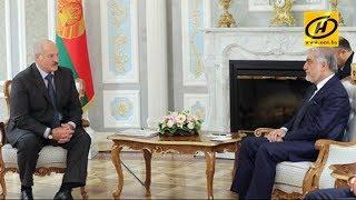 Александр Лукашенко провёл встречу с премьер министром Афганистана