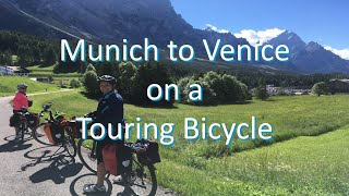 Munich to Venice on a Touring Bicycle