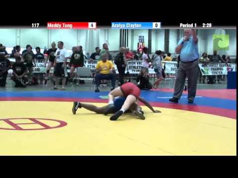 Women 117 - Maddy Tung vs. Azalya Clayton