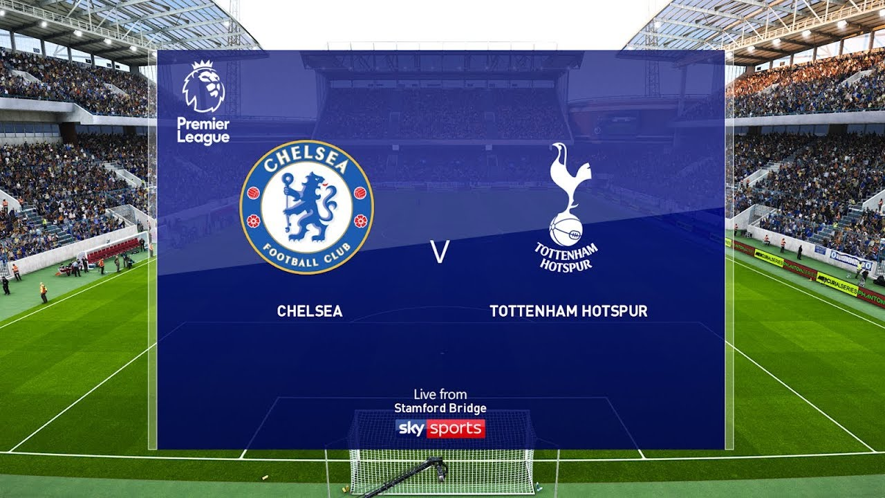 Chelsea Vs Tottenham Epl  Gameplay Youtube