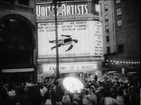 Anatomy Of A Murder 1959 Detroit Premiere - YouTube