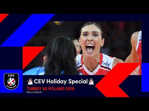 Turkey vs Poland FULL MATCH   #EuroVolleyW 2019   CEV Holiday Special