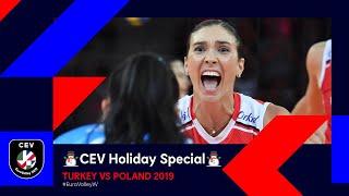 Turkey vs Poland FULL MATCH EuroVolleyW 2019 CEV Holiday Special