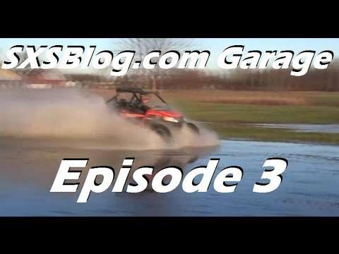 SXSBlog.com Garage Episode 3... Arctic Cat Wildcat mods and muds!