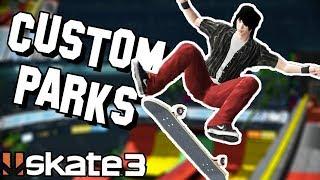 Skate 3: CUSTOM PARKS BATTLE! ft Nightspeeds