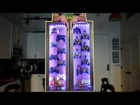 DIY Controller 🎮 Rack, Organized Nostalgia