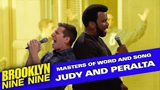 Judy and Peralta: Masters of Word and Song | Brooklyn Nine-Nine