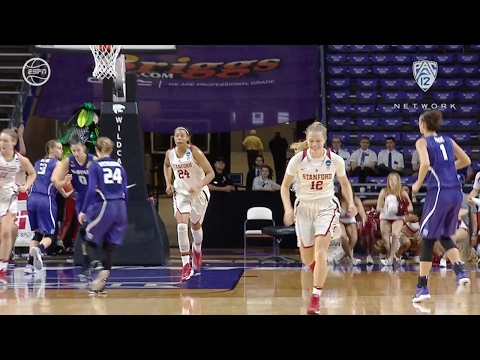 Highlights: Brittany McPhee scores 21 points, Stanford advances to Sweet 16