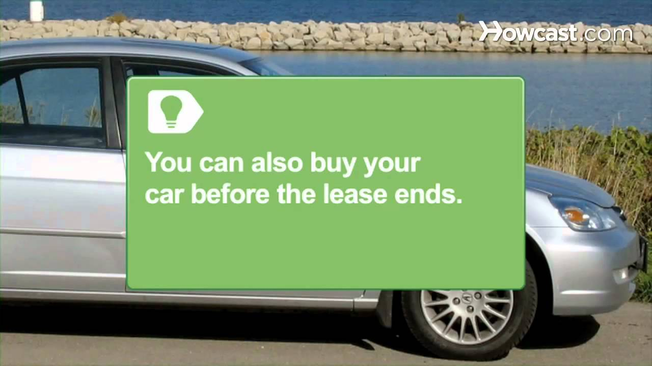 How To Buy A Car Off A Lease Youtube