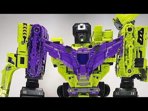 """Toyworld TW-C07X Constructor """"Perfect"""" Version Live Unboxing and Combining"""