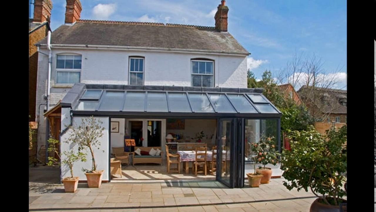 Kitchen living room extension design - YouTube