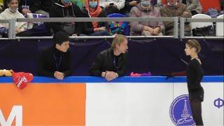 Алена Косторная КП Контрольные прокаты 2020 2021 Aliona Kostornaia SP Open Skates Ангелы Плющенко