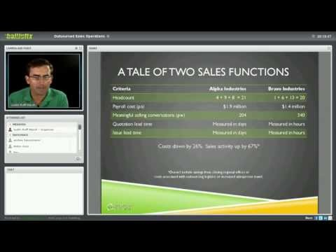Webinar: an introduction to Outsourced Sales Operations