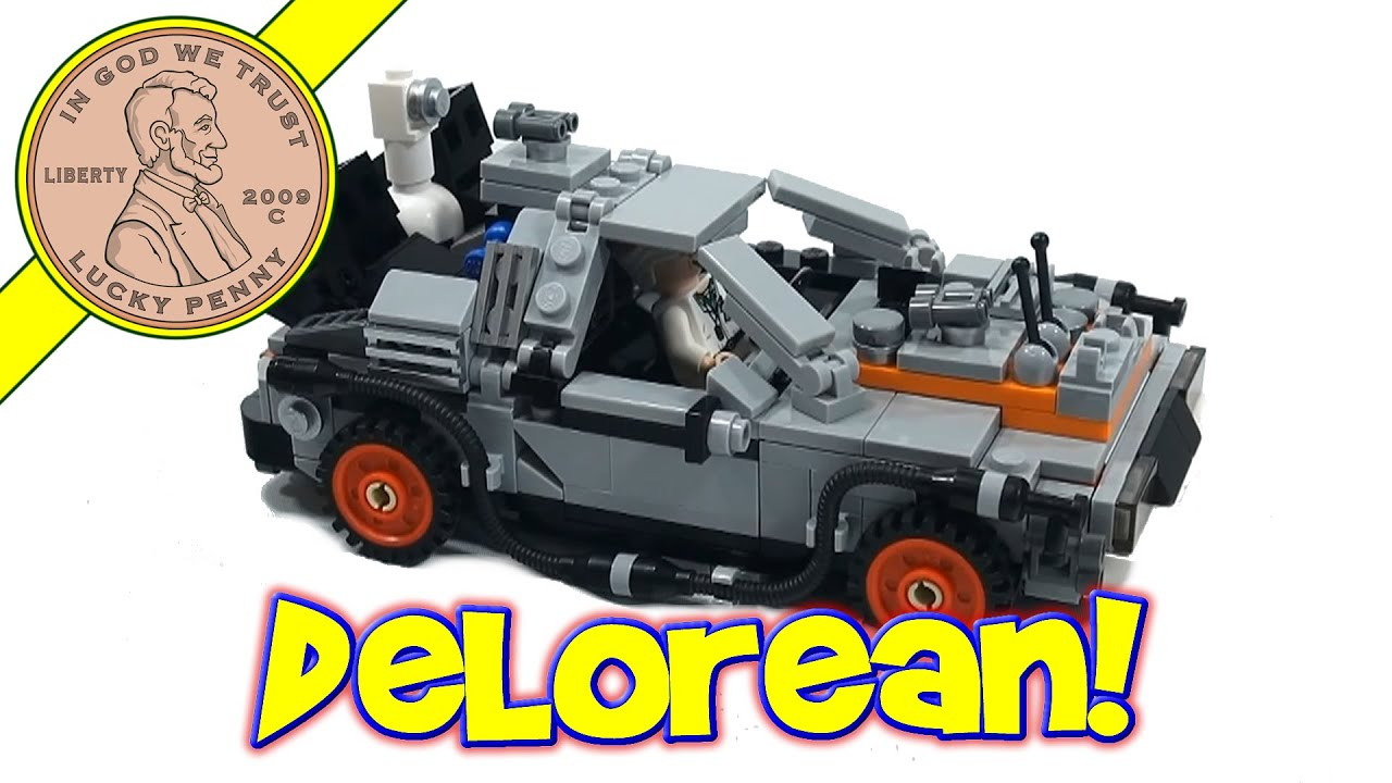 Lego Back To The Future Delorean Time Machine Set 21103