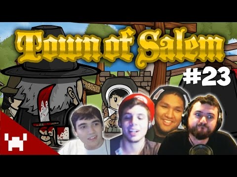 TIN MAN THE VIGILANTE (Town of Salem QUAD FACECAM w/ The Derp Crew Ep. 23)