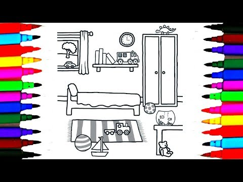 How to Draw Playroom for Boys and Girls l Drawing Videos for Kids l Disney Brilliant