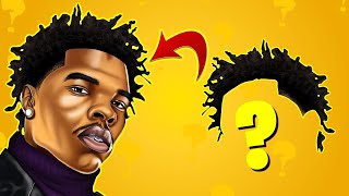 GUESS THE RAPPER BY HIS HAIR QUIZ 2021   HARD CHALLENGE   SLAP OR GET SLAPPED TYPE QUIZ