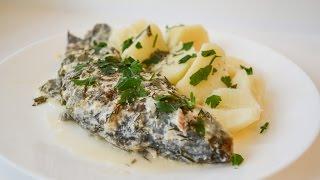 Рыба в сметане,очень вкусно!!!