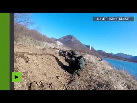 Meilleures moments des entraînements des troupes de marine au Kamchatka