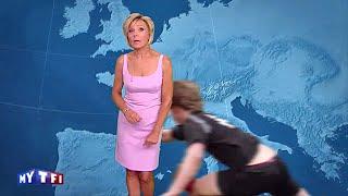 Evelyne Dheliat plaquée pendant sa météo sur TF1 !