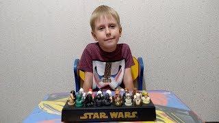 Звездные войны коллекция фигурок - Star Wars видео обзор персонажей