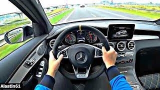 The Mercedes AMG GLC63 S 2019 Test Drive