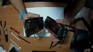 Замена дисплейного модуля HTC Desire E8