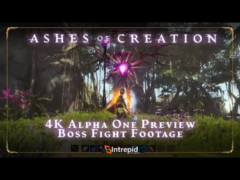 4K Alpha One Preview  Level 10 Boss Fight Footage