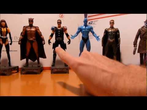 DC Direct Watchmen Action Figure Set
