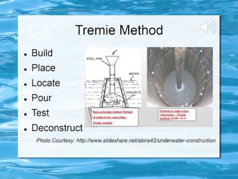 ENGR 325- Pouring Concrete Underwater