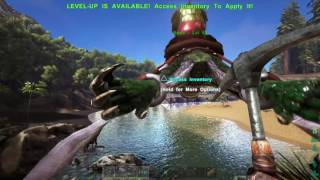 ARK: Survival Evolved_sight seeing up the river in the island cenre