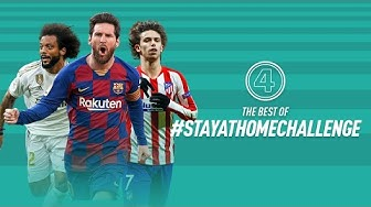 MESSI, FELIX AND MARCELO JOINING OUR CHALLENGE! | BEST OF #STAYATHOMECHALLENGE