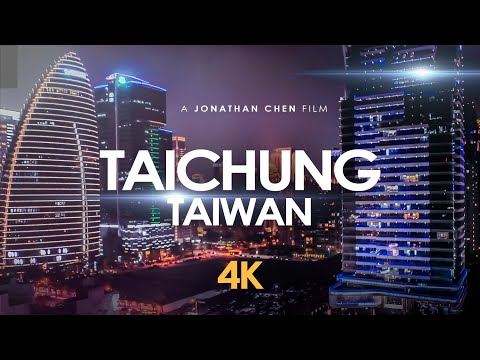 Taichung Taiwan, The Luxury Begins (七期) by Drone 4K