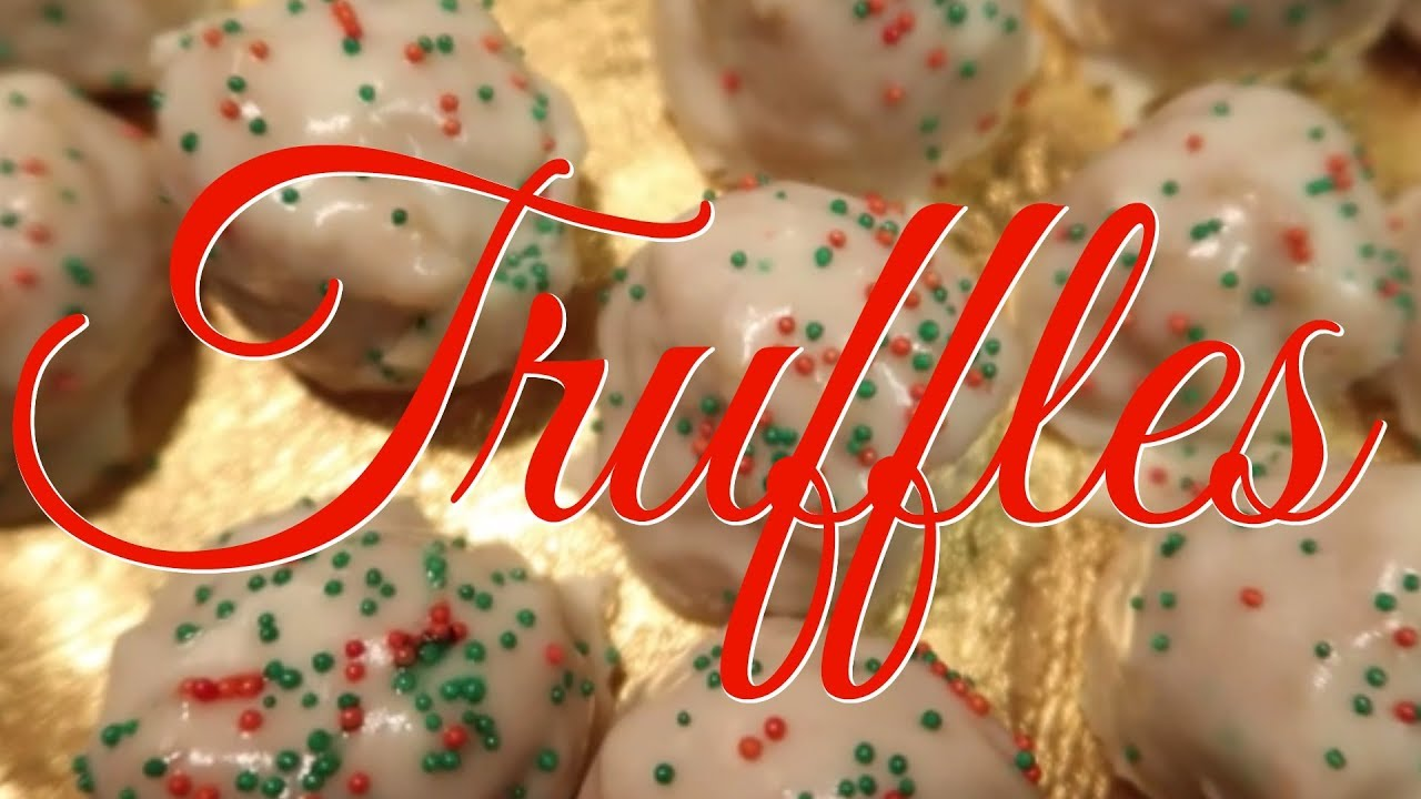 Cook With Me Sugar Cookie Truffles Christmas Baking Recipe