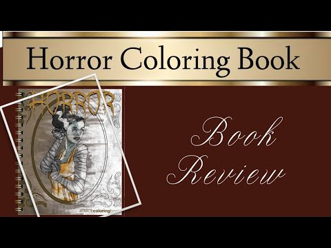 Horror Colouring Book   Review