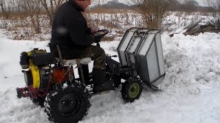 видео Вывоз снега