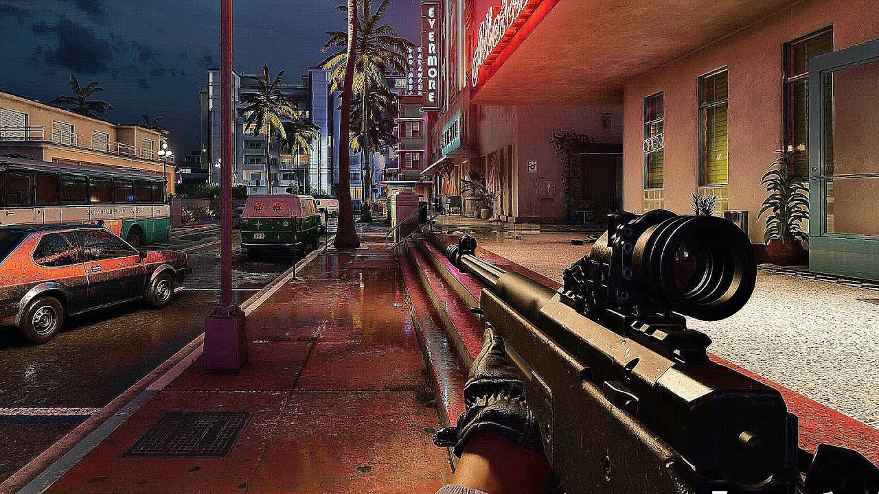 Call of Duty Black Ops Cold War - Team Deathmatch Gameplay Multiplayer (Ray Tracing) 4K