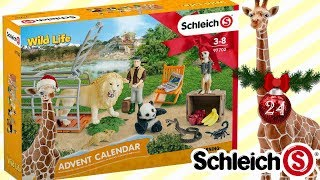 Kalendarz adwentowy 🎄🏇 Schleich • Dzikie zwierzęta Wild Life 🎄🐴 2018