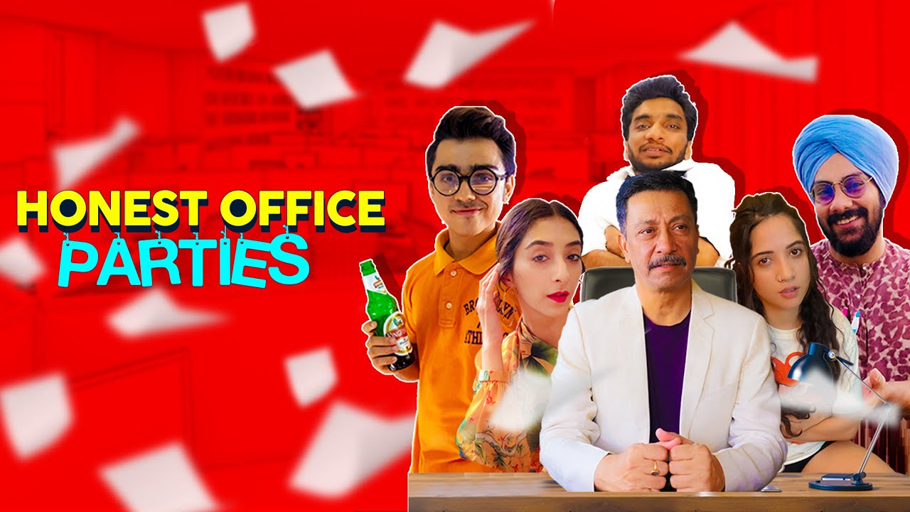 Honest Office Video Call Parties | Life In Lockdown | Cheers!