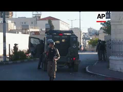 Clashes in Ramallah and Bethlehem after US Jerusalem move