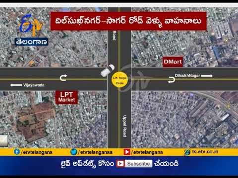 Take U turn at LB Nagar junction