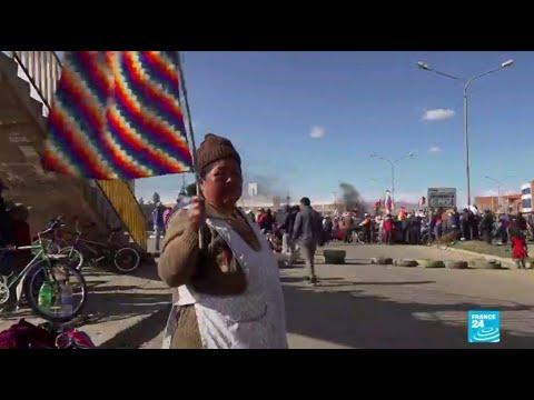 'La Paz is a city under siege': Bolivia's capital struggles as food runs out