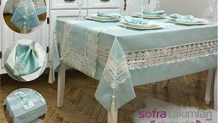 Masa Örtüsü Takımı - Brisse Set 26 Parça