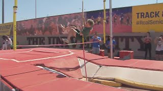 85-Year-Old Pole Vaulter Sets Record for Her Age Group