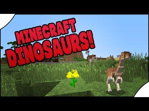 Minecraft Dinosaurs! || 474 || Gallimimus Conservation