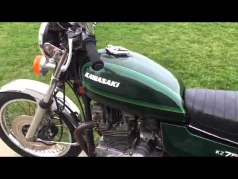 78 Kawasaki KZ750 Twin - YouTube
